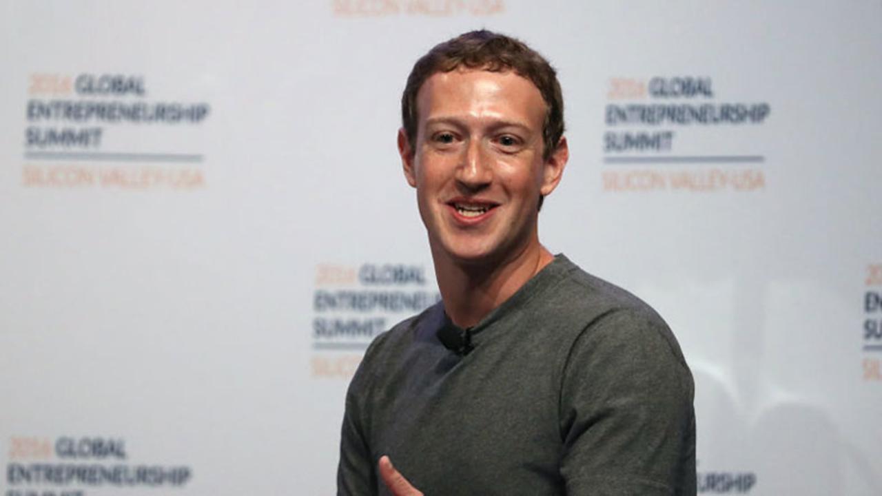 Facebook上で絶対ブロックできないアカウント、マーク・ザッカーバーグ
