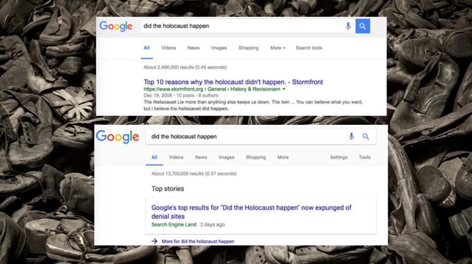 検索結果はどう中立であるべきか? Googleが検索アルゴリズムを変更、ヘイトサイトを一部排除