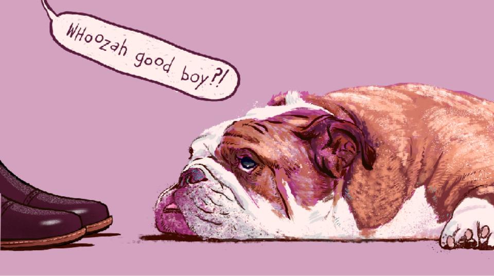 飼い主の「ワンちゃん言葉」に犬はうんざりしてる?
