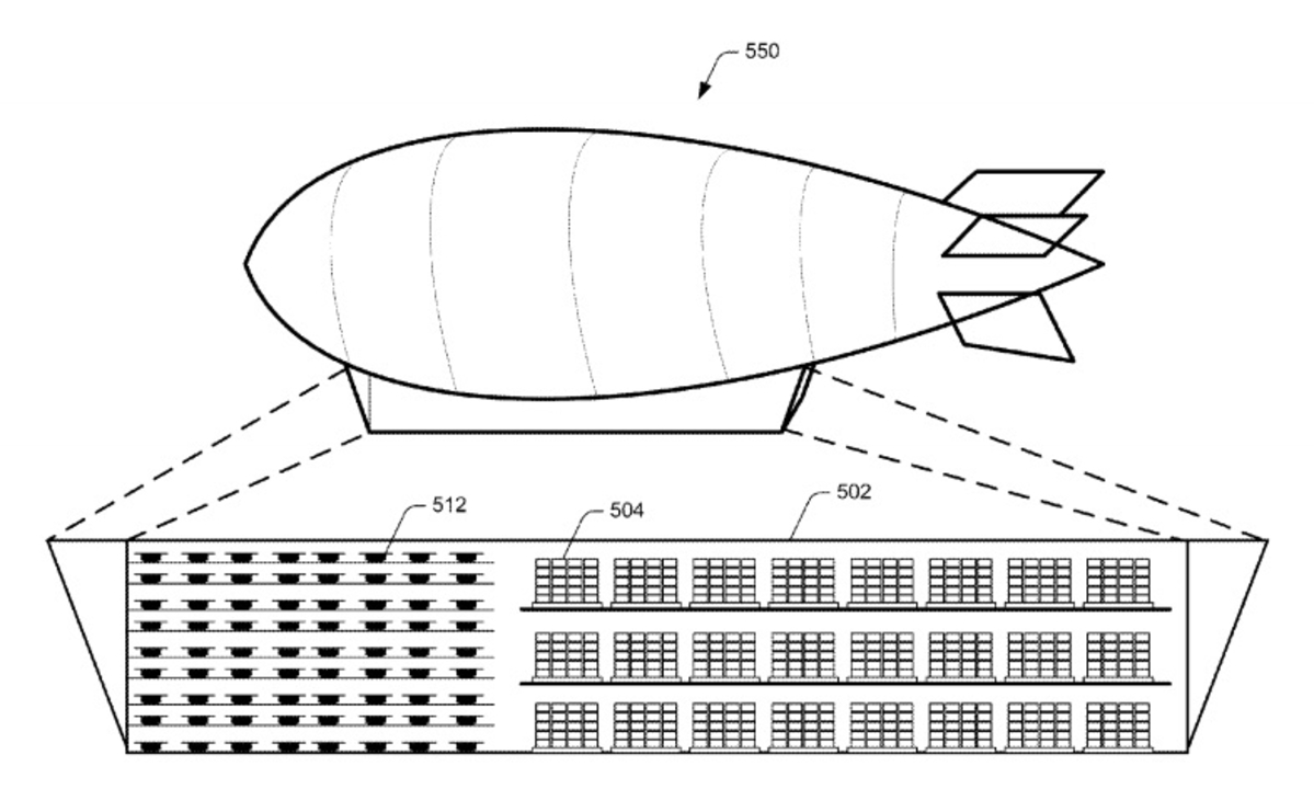 Amazonの新特許は…空飛ぶ倉庫!?