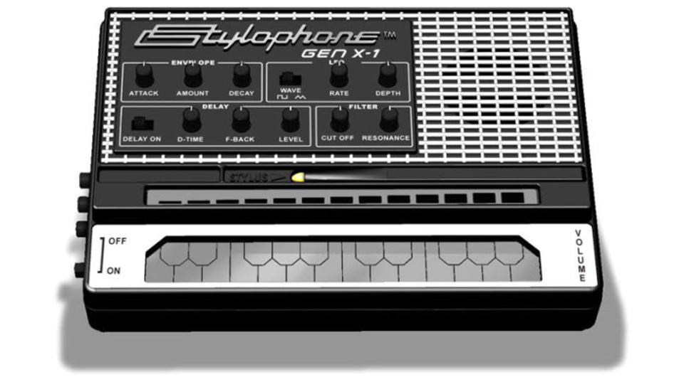 デヴィッド・ボウイやクラフトワークも使用していたトイ・シンセ「スタイロフォン」、最新版が登場
