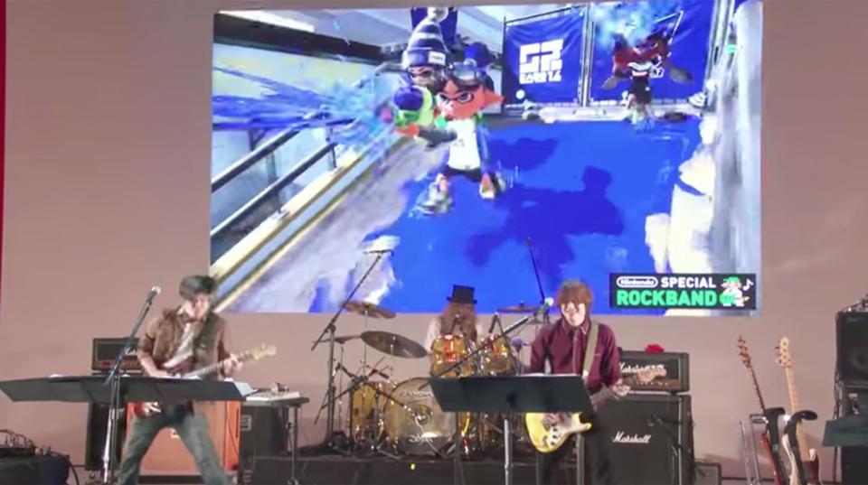 ニンテンドースイッチの体験会で披露されたゲームミュージックライブの模様が公開!