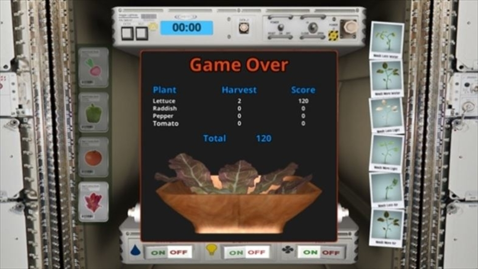 NASAのアプリで、宇宙飛行士になって宇宙ステーションで野菜を育ててみよう