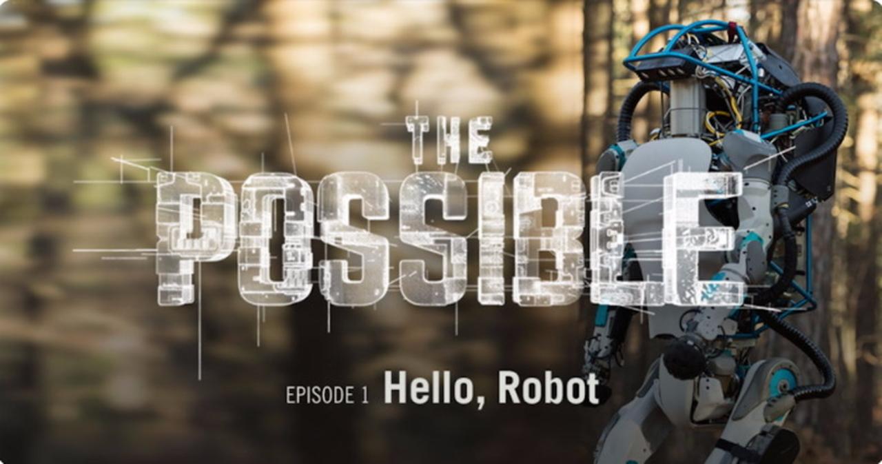 最先端のロボット開発を360度動画で見る。ドキュメンタリー・シリーズ『ザ・ポッシブル』が公開