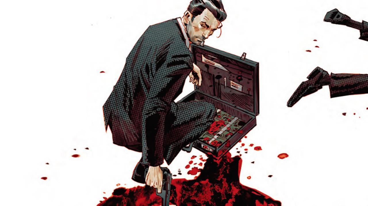 最強会計士映画がアメコミ化。コミック『ザ・コンサルタント』の日本版を独占公開!