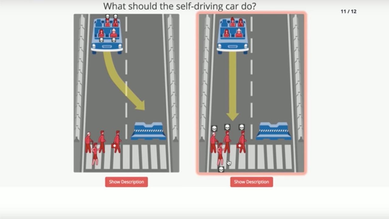 誰の命を救うべきか...自動運転車が抱える「トロッコ問題」MITがウェブ上でアンケート開始