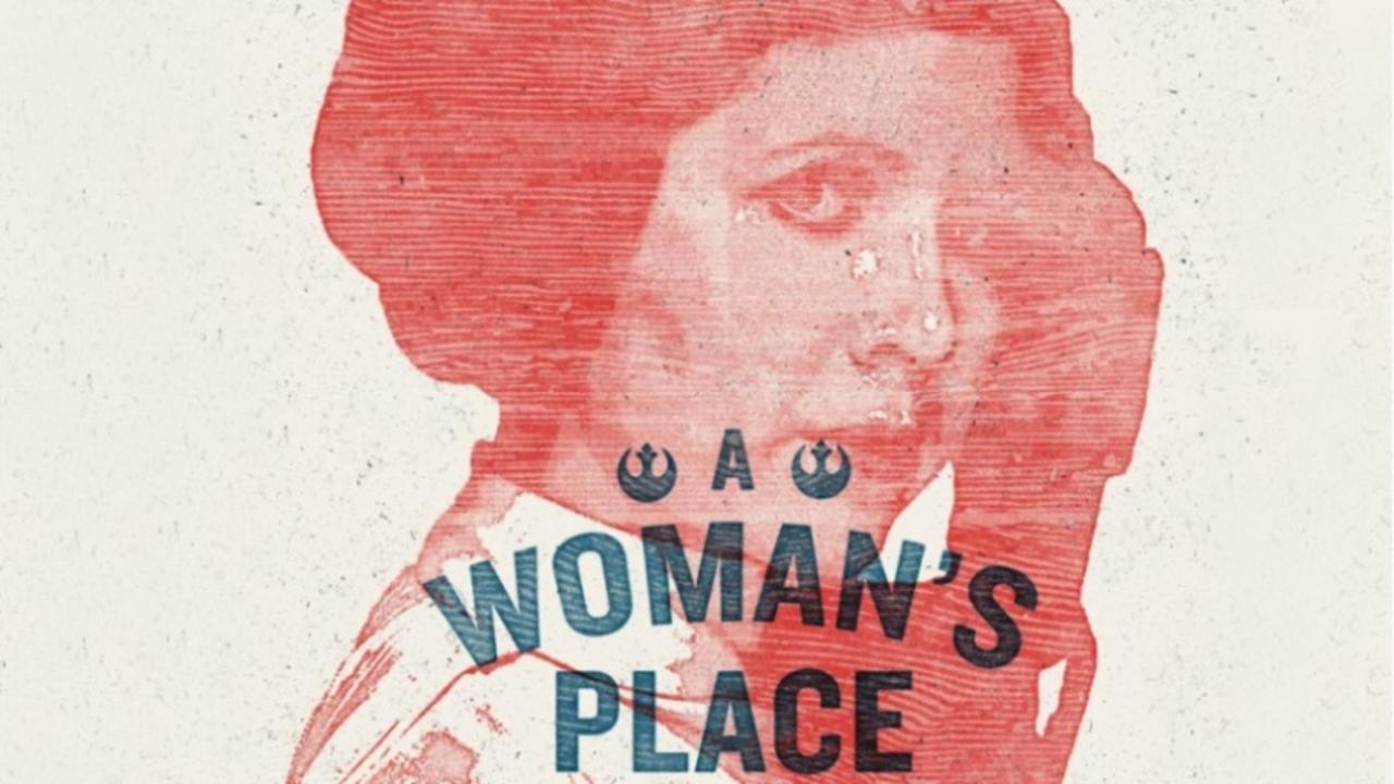 レイア姫のプラカードが女性の権利を訴える「ウーマンズ・マーチ」で多数掲げられる