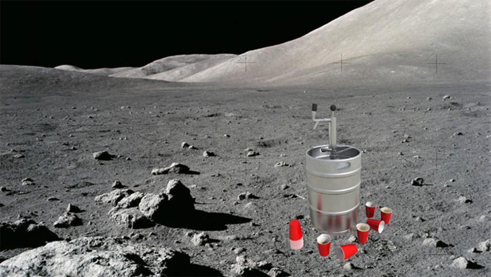 月でビールは作れるの?