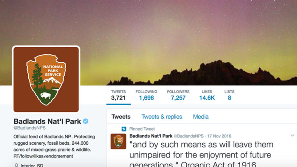 トランプ大統領と米国立公園局のTwitterゴタゴタ、続く。でもツイートしていたのは…