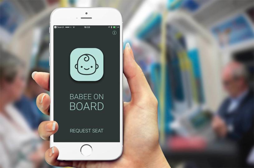電車内の「あれ、妊婦さん...かな?」を解決。近くの妊婦の存在を知らせてくれるアプリ