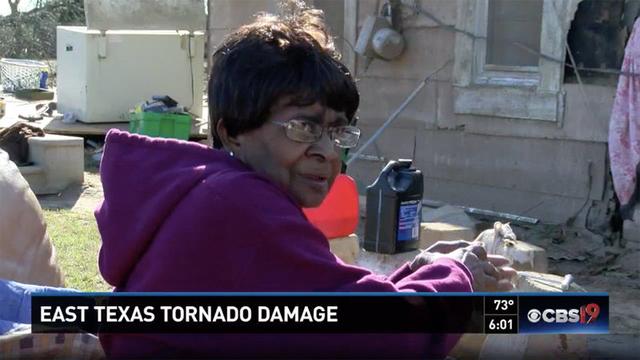 巨大な竜巻に飲み込まれた75歳の女性が無傷で生還した方法