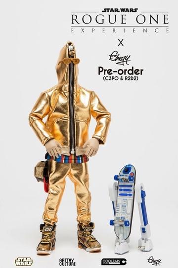 変化球すぎる! 『スター・ウォーズ』からC-3PO&R2-D2のスケーター・フィギュアが登場