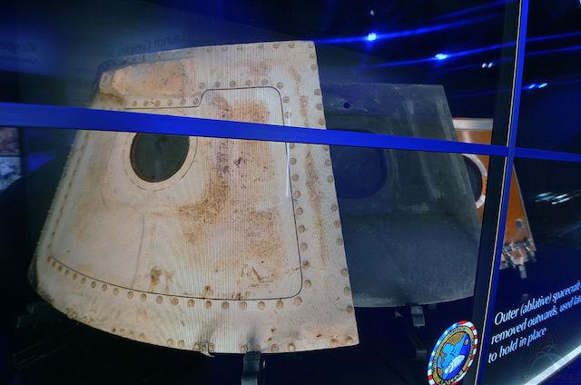 アポロ1号 展示 1