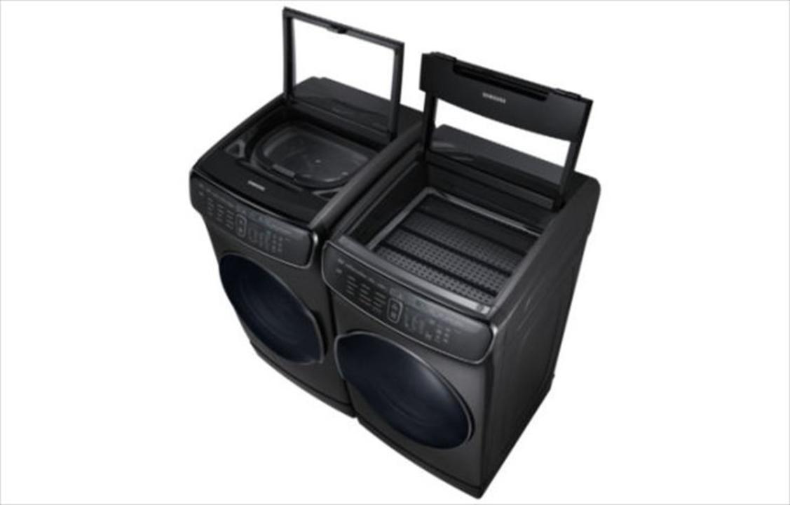 Samsungから、2つの洗濯機と2つの乾燥機を1つにしたスマート洗濯システム発表