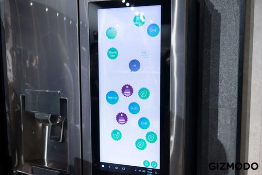 LGからWindows10バージョン、Androidバージョンの2種類のスマート冷蔵庫が登場