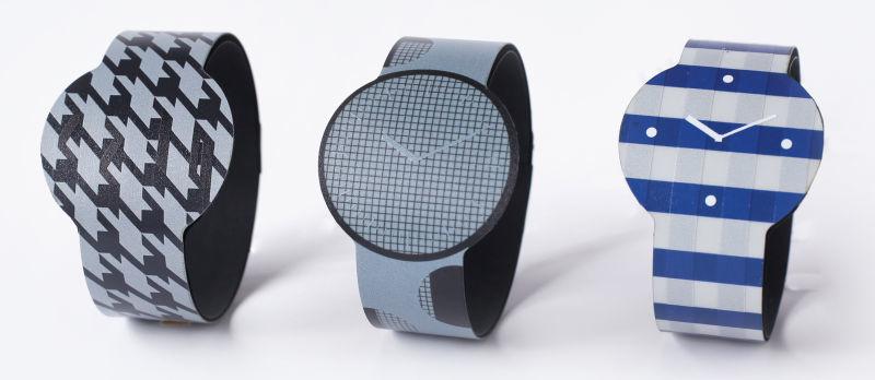 カラーで全体のデザインを変えるカメレオンのようなE Ink腕時計、Fes Wacth新型披露