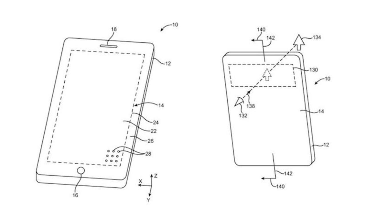 「未来のiPhone」は前面まるまるディスプレイ? 新特許が登場