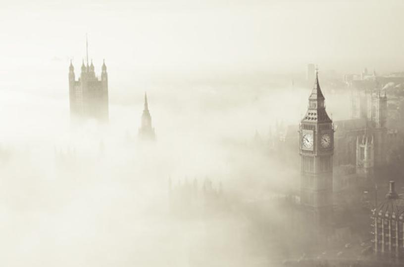 60年前のイギリスの霧の原因、現代の研究でようやく明らかに