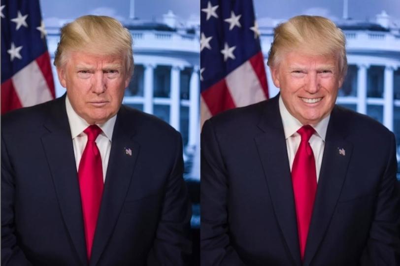 真顔の写真をニッコニコの笑顔にするアプリが流行る  [582550711]->画像>150枚
