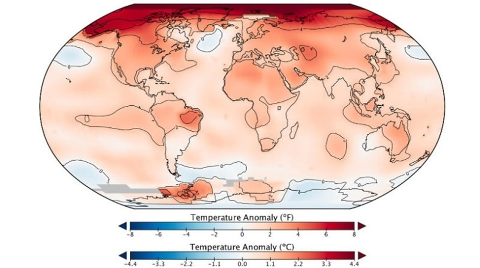 予想通り? 2016年の世界の平均気温、3年連続で史上最高を記録していた