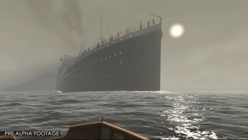 海底探査や船内探索が体験できる『タイタニック VR』が資金を募集中