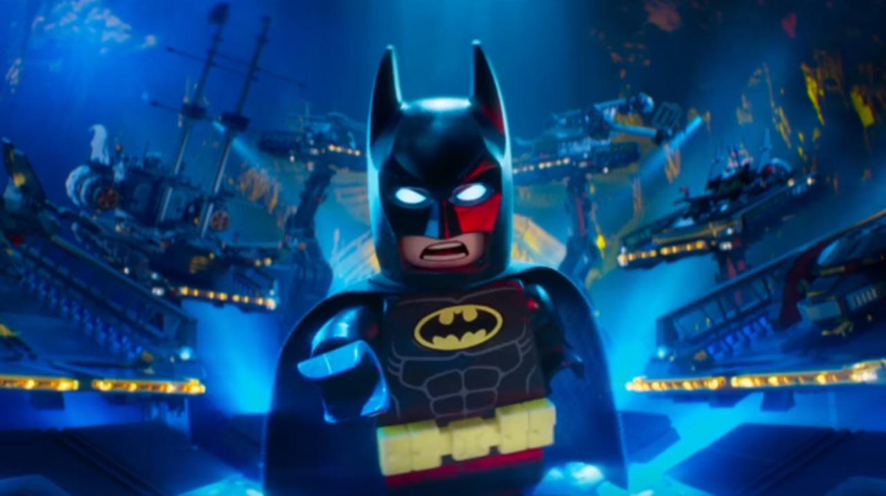 珍妙なバットモービルがたくさん登場する『レゴバットマン ザ・ムービー』本編映像