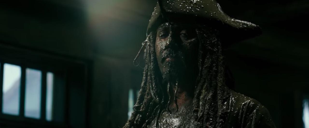ついにジャックのご尊顔が! 映画『パイレーツ・オブ・カリビアン/最後の海賊』の新映像が公開