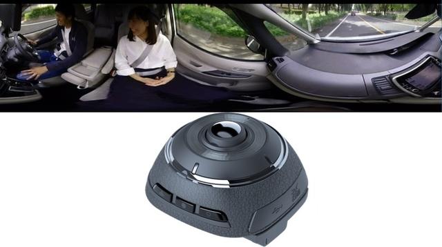 前?後?いいや全部でしょう。360度撮影できるドライブレコーダーで