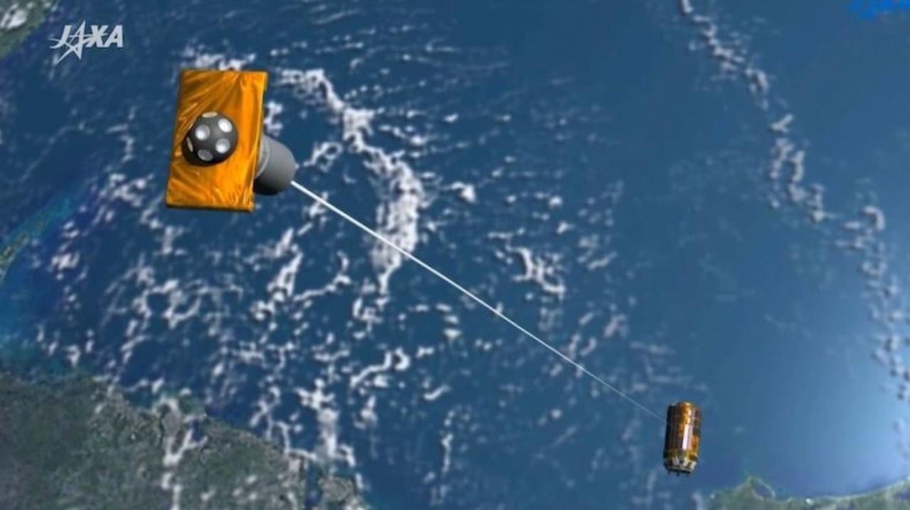 JAXAの「こうのとり」スペースデブリ回収実験。残念ながら失敗に終わる