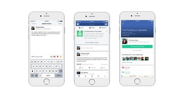 Facebook、災害時に食料や避難場所を探せる「コミュニティヘルプ」機能を追加2