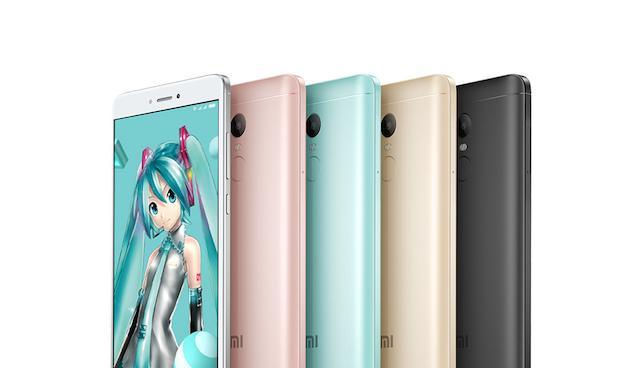 Redmi Note 4X 初音ミク スマホ 2