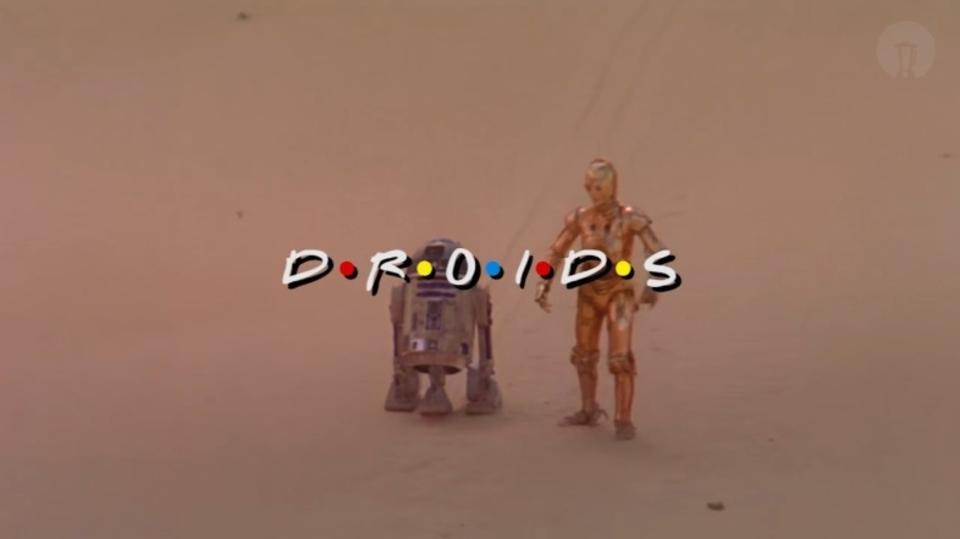 もし『スター・ウォーズ』のドロイドたちがコメディドラマに出演したら