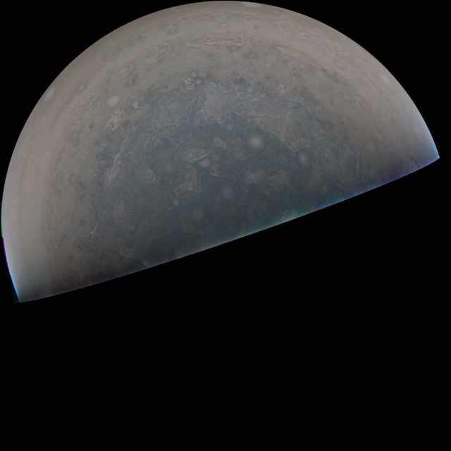 ジュノー 木星写真