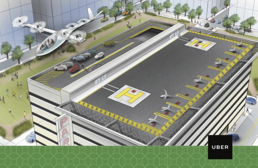 2階の窓に乗り付けて! Uberの空飛ぶタクシー計画、NASAの研究員を迎える