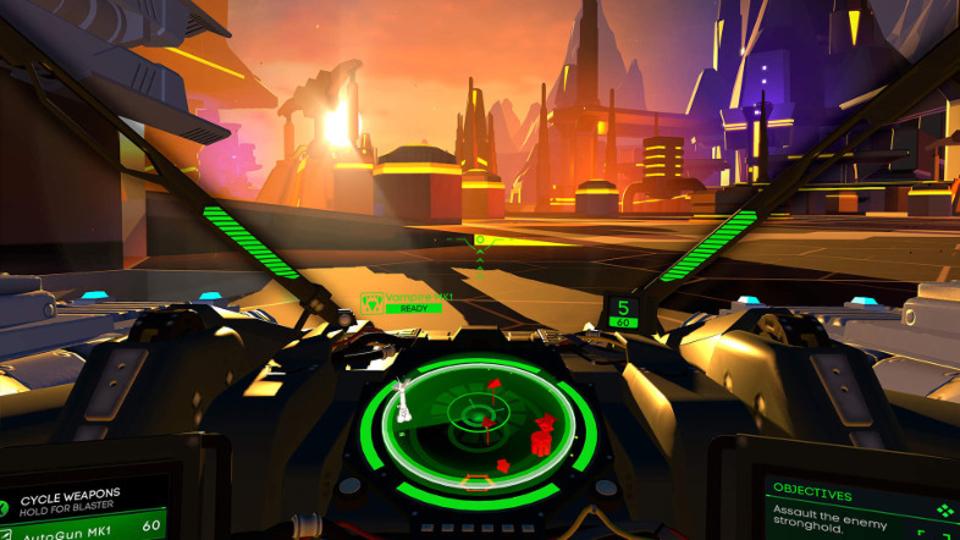 PS VRで狙う→撃つ→爆発→幸せ! 未来の戦車バトルゲーム『Battlezone』