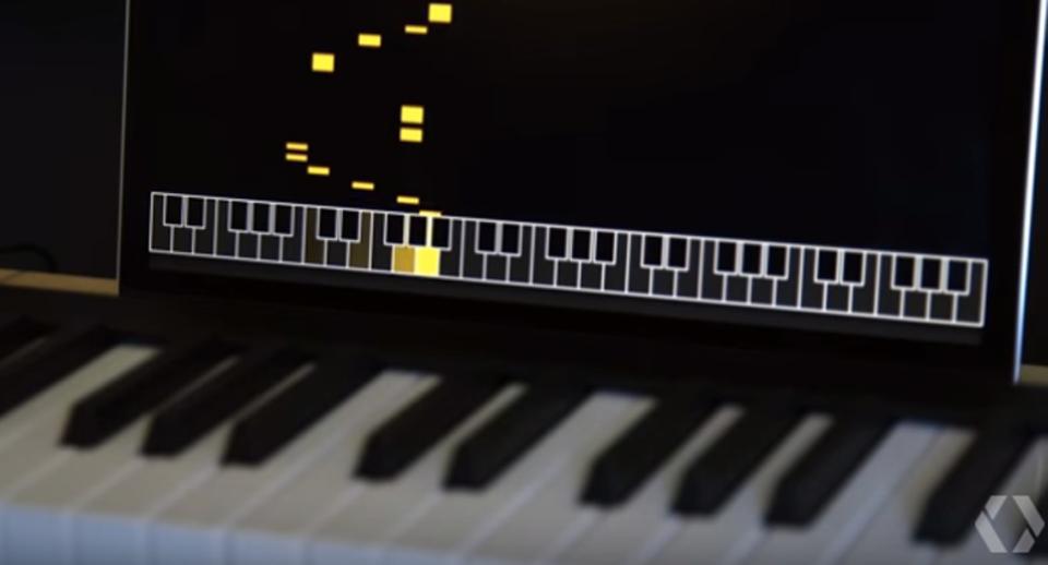 人工知能とピアノ連弾する世界