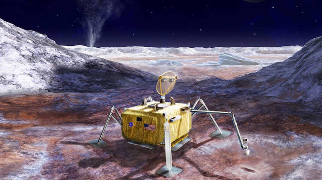 NASAがエウロパで地球外生命探査を計画中。地表の氷をドリルで削ってサンプルを回収予定