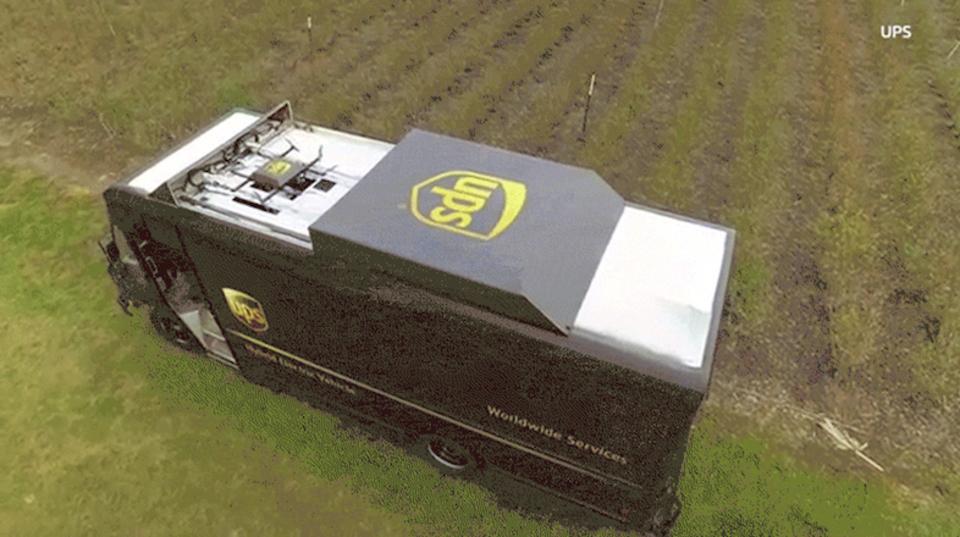 UPSの新ドローン、晴れ舞台でクラッシュしかける…。ドローン配達の実用化はまだまだ先?