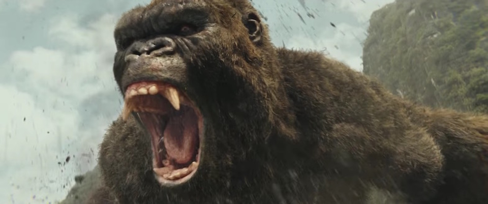映画『キングコング: 髑髏島の巨神』の音楽でノリノリな最終予告編が公開