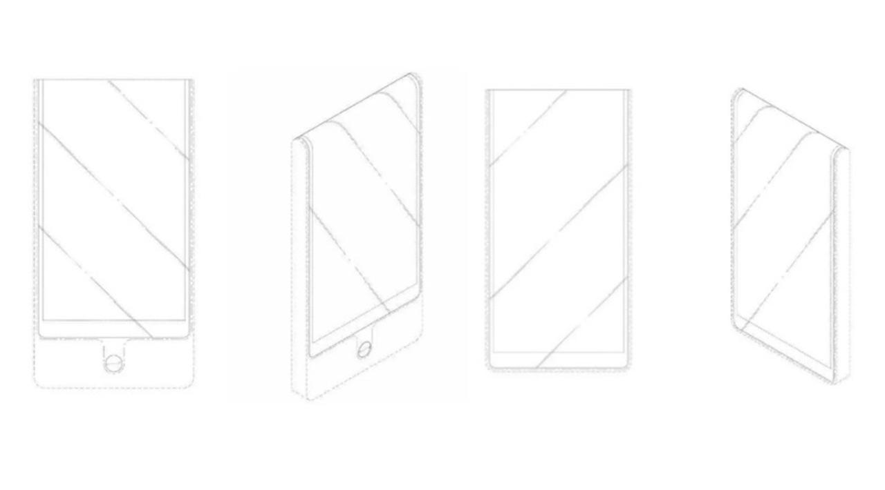 スクリーンベロベロ。LGの超曲面ディスプレイ搭載スマホの特許がすごい