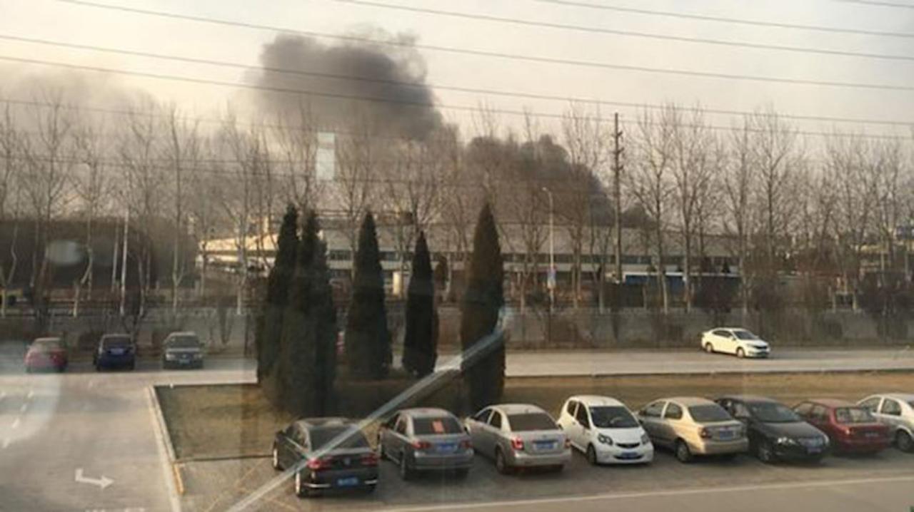 Samsungの中国工場で出火。原因はやっぱりバッテリー…