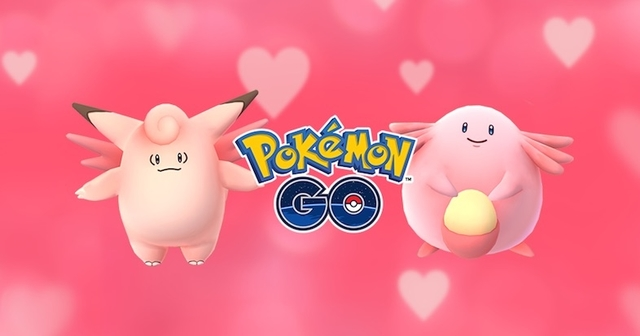 『ポケモンGO』バレンタインデー祭り開始!ピンク色のポケモンが見つかりやすく
