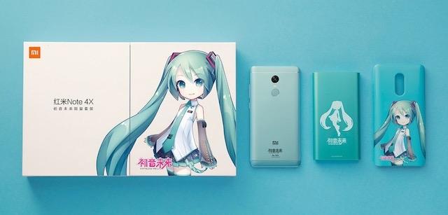 Redmi Note 4X 初音ミク スマホ 1