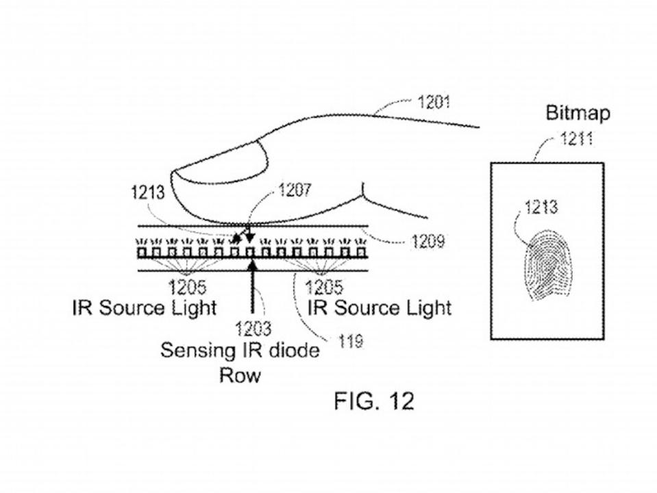 これが指紋認証の最先端? Appleがディスプレイを使った新特許取得
