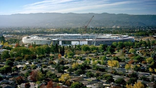 一般向けカフェやストアも。Apple新本社「Apple Park」4月に従業員向けオープンです