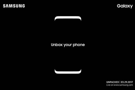 「Galaxy S8」発表か!? Samsung、3月29日にNYでイベント開催