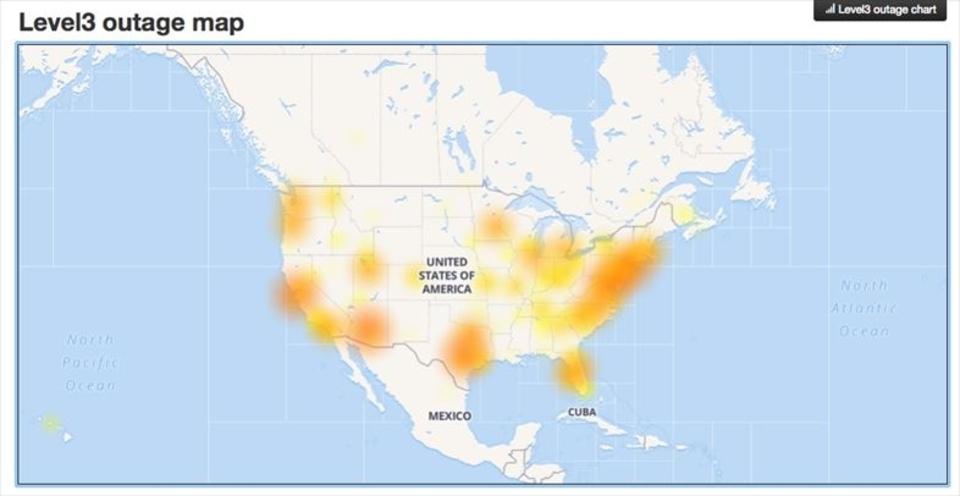 Amazon AWSのエラーでインターネット死にかける