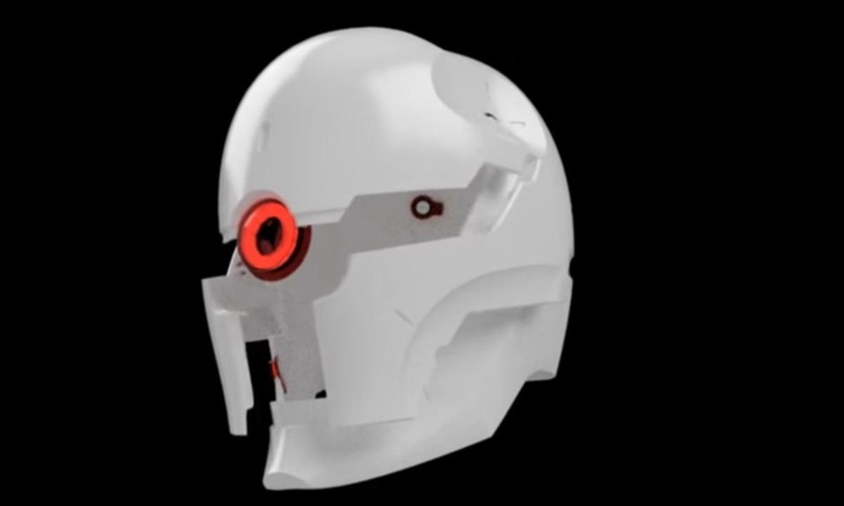 可動&光る『メタルギアソリッド』グレイ・フォックスのヘルメットを自作