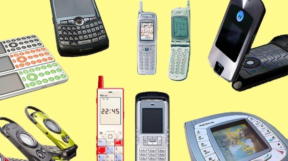 携帯電話史に名を刻んだ懐かしのガラケー10選