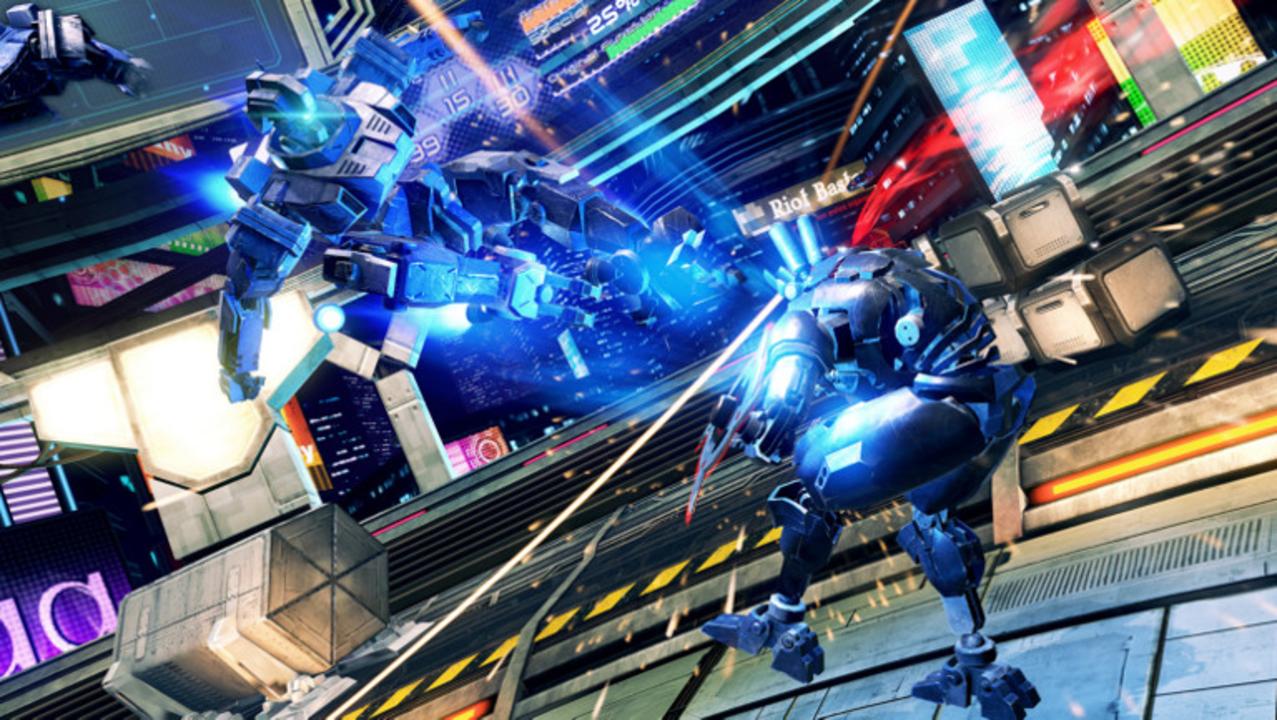 2D格闘とVRのいいとこ取り! VR世紀0002年のロボット格闘ゲーム『STEEL COMBAT』